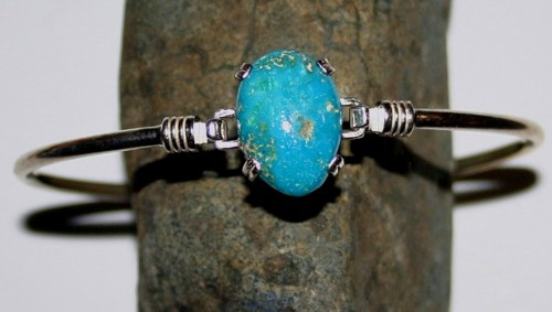 Bracelets Featuring Nevada Outback S Natural Turquoise Silver Jewelry
