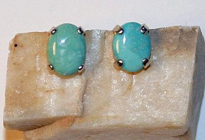 Nevada Turquoise, McGuinness Earring Jewelry