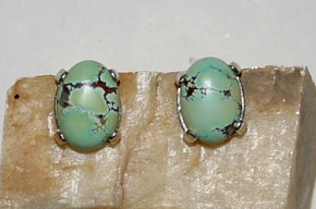 Natural Nevada Turquoise, Candelaria Earring Jewelry