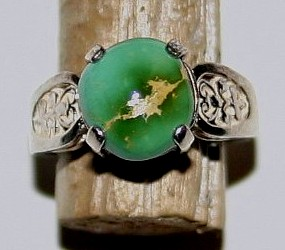 Natural Nevada Turquoise, Royston Ring Jewelry