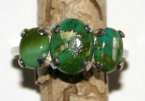 Turquoise Rings Nevada Outback S Natural Turquoise