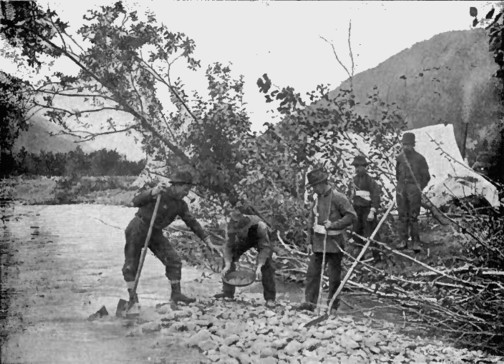 an overview of the gold rush and the colorado river Prospectors on their way to the california gold rush discovered gold deposits  along the south platte river in colorado little attention was paid to this gold.
