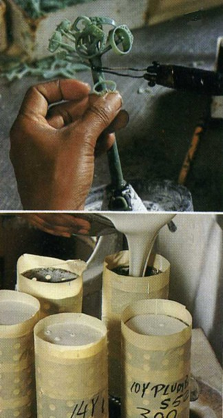 Lost Wax Method of making jewelry uses of gold