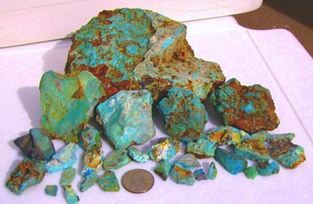 The rock hounds corner for Information on Prospecting for