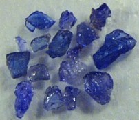 tanzanite rough gems