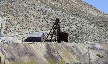 Tonopah, Nevada gold mining shaft