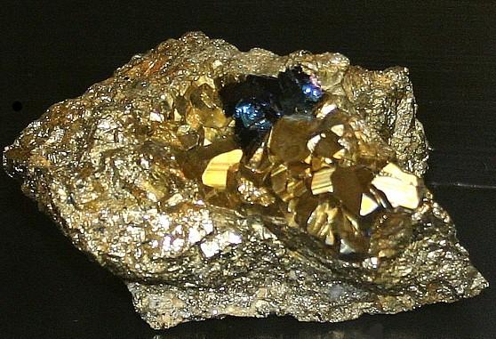 Cuprite nevada mining districts