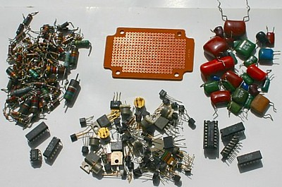 electronics for constructing a metal detector