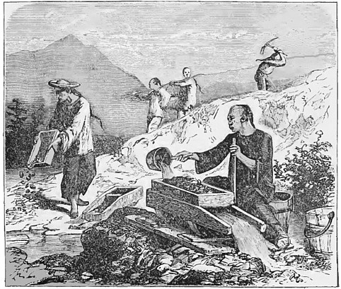 a history of the california gold rush attracting immigrants around the world