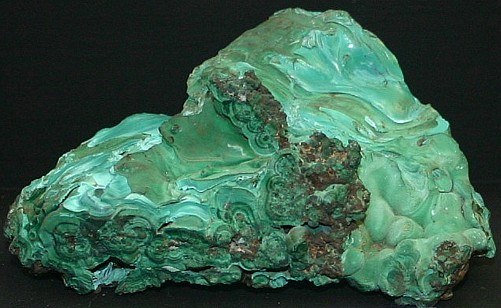 Malachite  copper ore