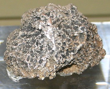 Iridium element rock