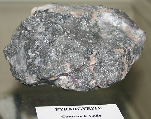 Pyrargyrite Mineral Information Photo And Facts Rich