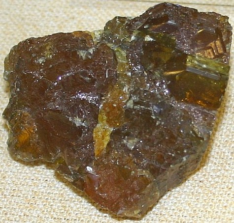 in oxidizing flame  Sphalerite Mineral
