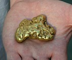 Large 7.5 ounce California gold nugget