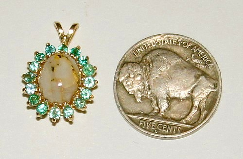 Making Fine Gold Quartz Jewelry