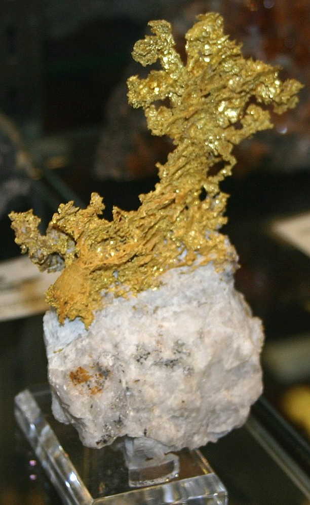 Crystalline Gold, Eagle's Nest Mine, Placer County