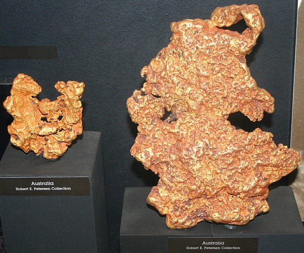 Large Australian Gold Nuggets