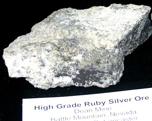 battle mountain silver ore