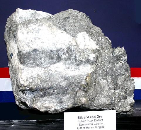silver peak Nevada Rich silver ore